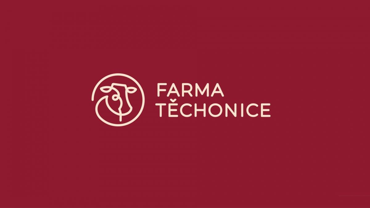 Logo a vizuální styl Farmy Těchonice