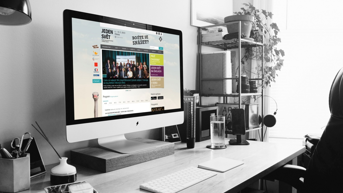 Web a online kampaň